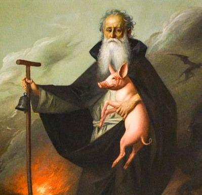 Il maialino di sant antonio abate pane focolare for Arredo bimbo sant antonio abate