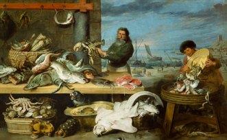 Frans Snyders, Il mercato del pesce
