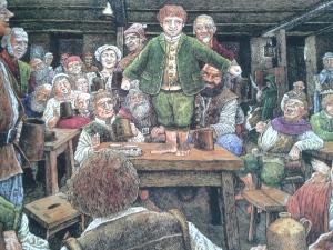 All'insegna del Puledro Impennato – Illustrazione di Timoty Ide