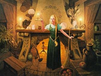 Dama Baccador – Illustrazione dei fratelli Hildebrandt